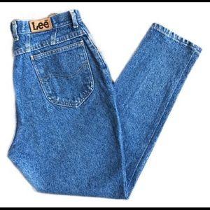 Vintage Lee high waisted leans
